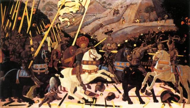 Uccello Battle of San Romano