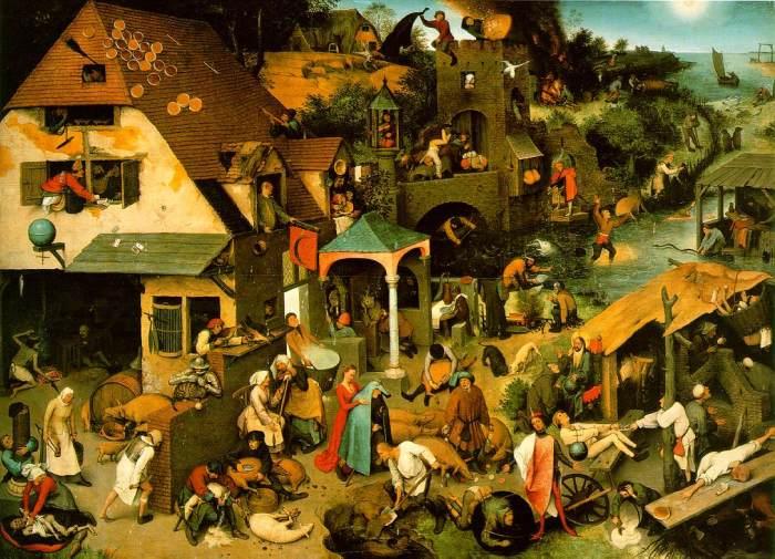 Bruegel Netherlandish Proverbs@0