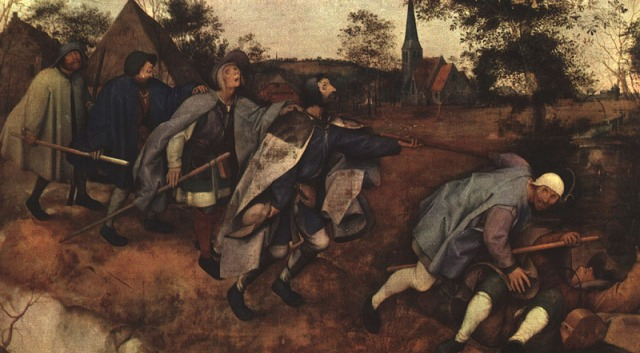 Bruegel Parable of the Blind Leading the Blind@0